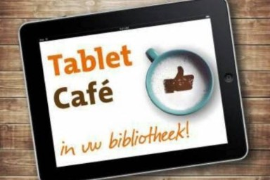 tablet cafe in bibliotheek oostburg